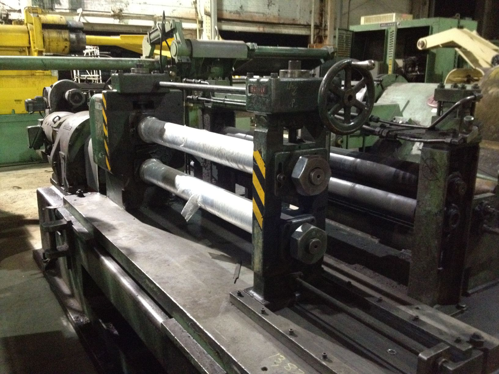 "Picture of 48"" x  5.5"" x 40,000# YODER Slitting Line"
