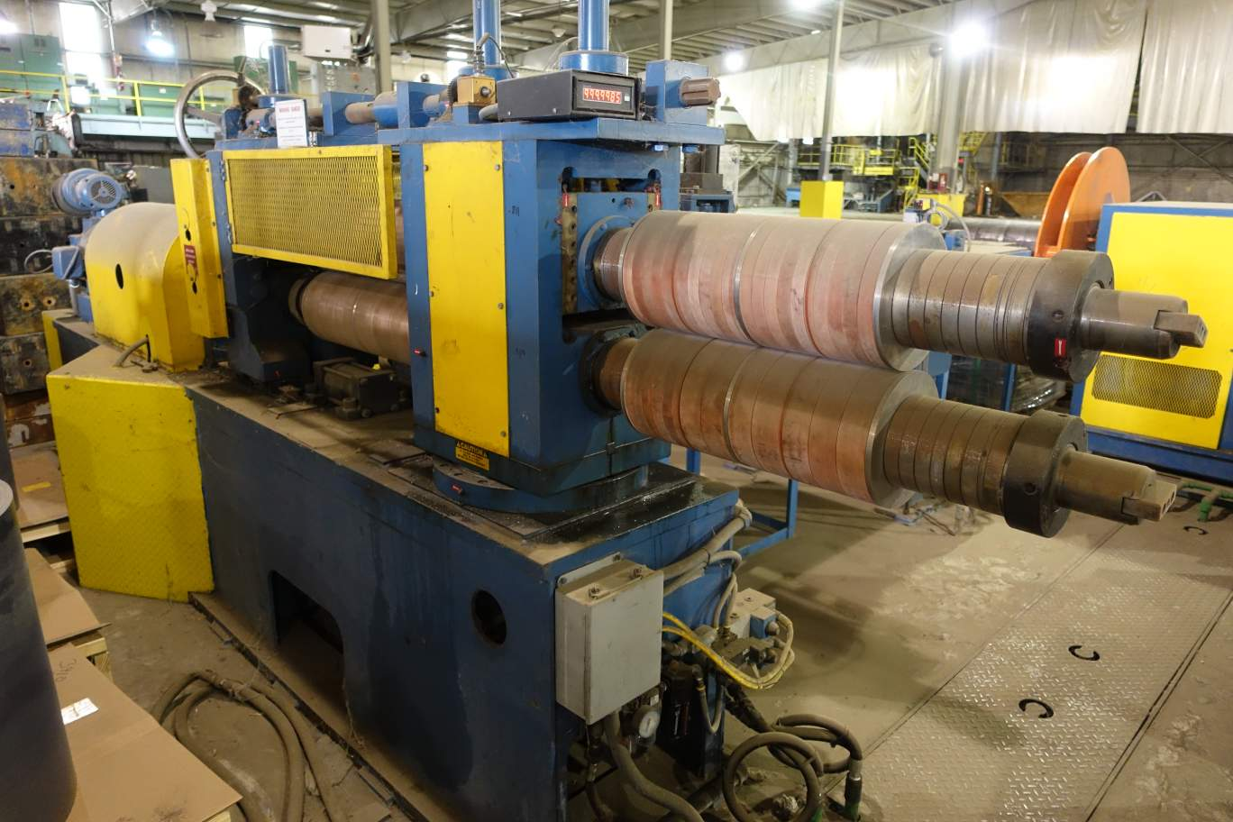 "Picture of 30"" x 4.5"" x 10,000# Stanat Precision Slitting Line"